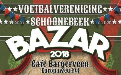 Aanstaand weekend de jaarlijkse bazar