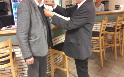 Henk Herbers benoemd tot erelid van de v.v. Schoonebeek en Lid van verdienste van de KNVB.